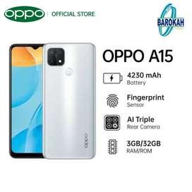 Oppo A15 3/32 Baru garansi resmi oppo indonesia