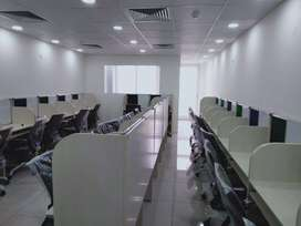 Furnished 950 sqft office space at zirakpur on lease at ambala higway