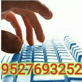 Part time / Full time jobs in India. Home based data entry works...