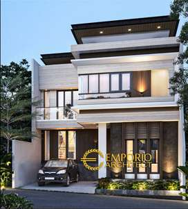 Jasa Arsitek Balikpapan Desain Rumah 195m2