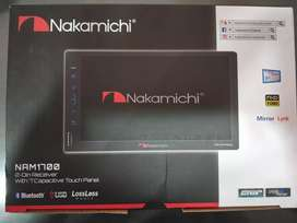 """Nakamichi 7""""full touch car stereo"""