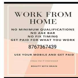 Get paid jobs here for part time
