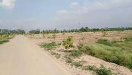 5 Marla plot for sale in Kings Town Lahore Good and Prime Location