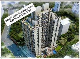 BALAJI ESTATE, 1BHK, 2BHK TOWER FLAT FOR SELL, DOMBIVLI EAST