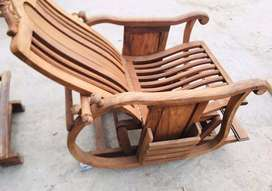 Rocking chair solid wood