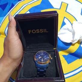 Fossil FS5230 Grant Chronograft Blue Tone . Fosil