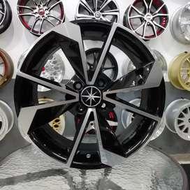 Ready Velg AMW STAR R16X6,5 pcd 4X100 bisa untuk Calya Aveo brio