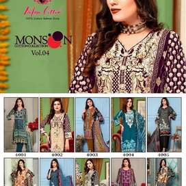 Monsoon dress material