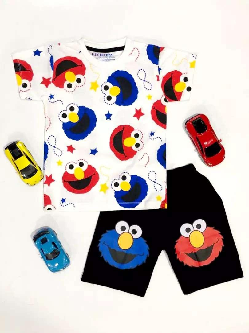 Stelan anak laki-laki 3-9 tahun Elmo 0