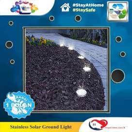 Stainless Solar Ground Light