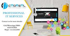 Specializes in Website Design and Mobile Apps development