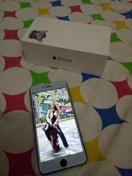 Dijual Iphone 6+ (plus) , 16gb lengkap, NEGO