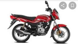 Good bike in red colour