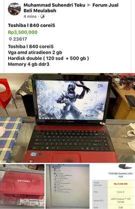 Toshiba l840 corei5