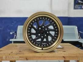 Velg Racing Toyota Vios Hsr Dobo Ring 15 Pcd 8x100-114,3