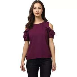 Purple short Top