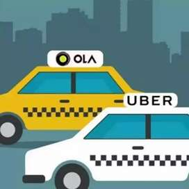 Drivers wanted for ola/uber attached cars