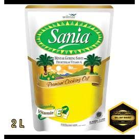 Minyak Goreng Sania & Kunci Mas 2Liter