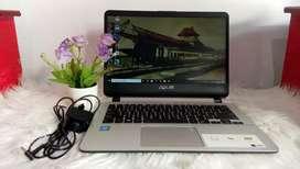 Laptop Asus vivobook Tipe A407M (cocok untuk anak sekolah)