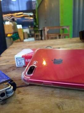 Iphone 7 plus Red edition 128gb ex inter jaminan mulus