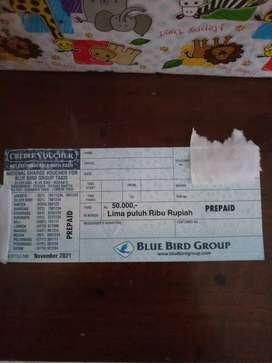 Voucher fisik blue bird