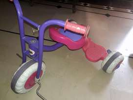kids car and bicyle