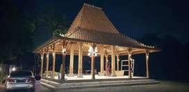 Jual Pendapa dan Rumah Kayu Jati Joglo