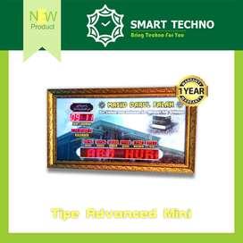 New Product Jam Digital Masjid Tipe Advanced Mini Berkualitas abs+