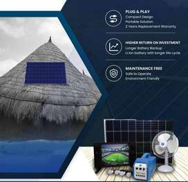 Solar Home System PLUG and Play with 2 Year Warranty