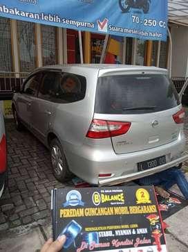 Bantalan per mobil BALANCE utk tahan full muatan mobil, GARANSI 2 THN