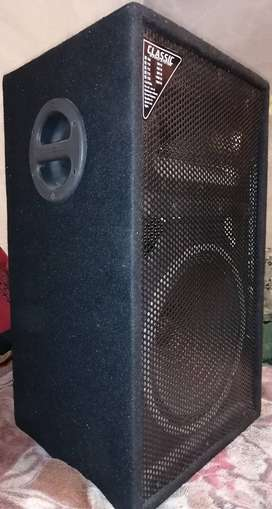 New Sound system with 1 mic in new condition