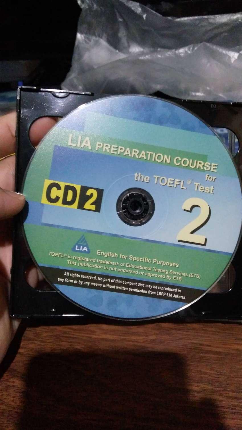 6 Buah. CD Audio TOEFL. Original Koleksi Pribadi