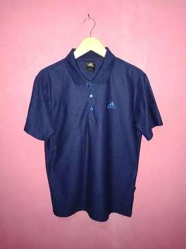 Bismillah, dijual kaos kerah Adidas climalite original