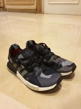 Like New Adidas NMD Black Camo (100% Ori)