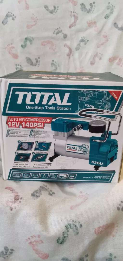 Total 140psi 12v auto Air compressor brand new best quality 0