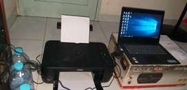Laptop lenovo ideapad 330 + printer