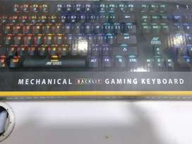 Ant  e sports mechanical gaming keyboard mk3200 new with warranty fix