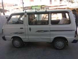 Maruti omni car white color model 2008