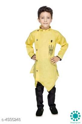 Doodle  Ethnic Kid's Boy's Kurta Sets(free cash on delivery)