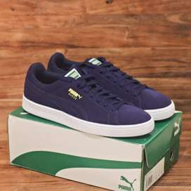 Puma suede navy peacot