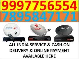 All india service tata sky and airtel tv