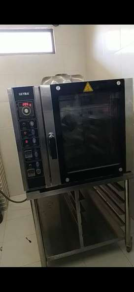 Convection oven 5 tray