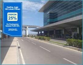 Beli Tanah  Untung 30%, Cukup 7 Menit  ke Bandara YIA Wates