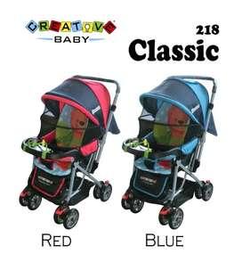 Stroller Creative Baby ready 715rb handle 2 arah , bisa utk newborn