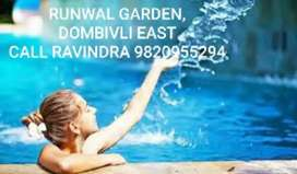 RUNWAL GARDEN, 2Bhk / 1Bhk Tower Flat, 23 Storey Tower, Dombivli East