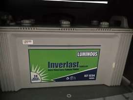 Luminous Battery and Invertor