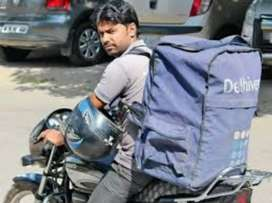 Urgent requirement delivery boy courier delivery