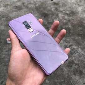 Samsung s9 plus 64gb  second like new termurah