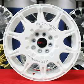 Jual velg racing HSR Ring 16 type ngeblok buat mobil avanza, livina,