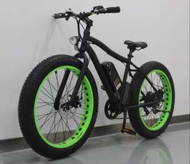 New Electric Cycle, 45 KM range, GPS tracking, Fast Charging